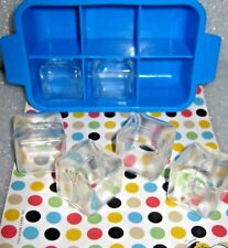 Play Kitchen ICE CUBES for Fisher Price Tray REPLACEMENT 2 Cubes ONLY fun food