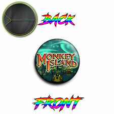 PINS PIN SPILLA 2,5 CM 25MM Monkey Island Videogioco Guybrush Threepwood