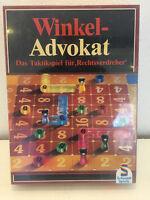 Winkel-Advokat von Schmidt Spiele in OVP Gesellschafts Brett Rarität