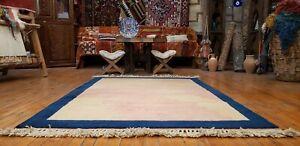 Beautiful Vintage 1960-1980's Wool Pile Natural Dye Kurdish Gabbeh Rug 4'x6'