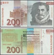 SLOVENIA 200 TOLARJEV 8/10/1997
