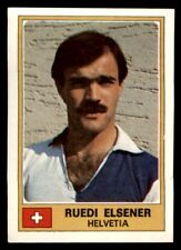 Panini Euro Football 77 - Ruedi Elsener Helvetia No. 123