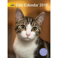 OFFICIAL CATS PROTECTION 2019 CALENDAR - A4