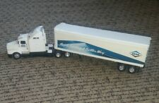 DANA Peterbilt SEMI TRUCK Tractor Trailer ERTL Vtg TOLEDO FACTORY metal DIECAST