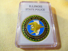 ILLINOIS STATE POLICE Challenge Coin