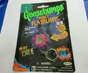 Goosebumps Flashlight Keychain Pocket - 1996 RARE-Works! Beetle