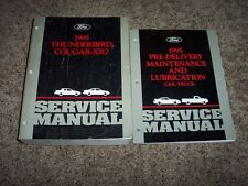 1995 Ford Thunderbird Mercury Cougar XR7 Service Repair Manual LX Super Coupe
