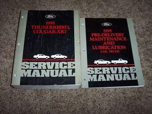 Service Repair Manuals For Mercury Cougar For Sale Ebay