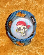Pirate Standard Cupcake Papers, Wilton, 75 count, Paper Bake Cups,