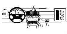 Brodit ProClip 852472 Soporte de montaje para AUDI A6/S6 Año fabricación
