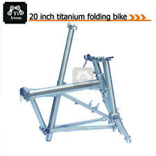 "Ti Atom/ Titanium  20""  folding bike Frame"