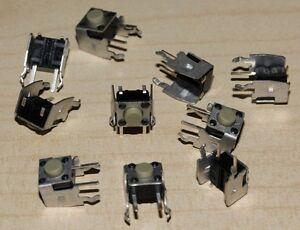 10 Stück Kurzhubtaster 6,2mm horizontal  KPT-1105VD