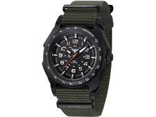 KHS Herrenuhr Sentinel A Black | Nato Olive KHS.SEAB.NO
