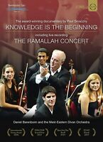 KNOWLEDGE IS THE BEGINNING - BARENBOIM,DANIEL  2 DVD NEU VARIOUS