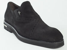 New  Cesare Paciotti  Black Suede Shoes UK 11 US 12 Retail $ $675