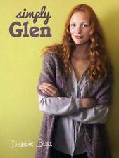 Debbie Bliss ~ SIMPLY GLEN~ Knitting Pattern Book -- NEW- GORGEOUS DESIGNS SALE