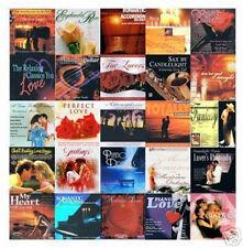 30 ROMANTIC CDs LOT love songs,music for lovers,romance,easy listening ALL NEW !
