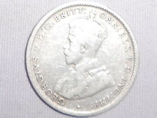 1924 Australian Silver ONE Shilling 1/- (Shilling) KING GEORGE V  (very Nice)
