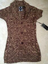 New With Tags Yoki Caroline Sweater In Brown Size Medium