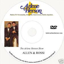 Allen & Rossi TV Interview  (30 Minutes)  DVD
