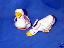 Vintage OLD China Ducks Salt and Pepper Shakers!