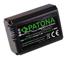 Batteria PATONA  INFOCHIP per SONY NP-FW50 NEX-5RB NEX-5RK NEX-5RKB NEX-5RKS F3