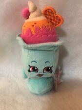 Shopkins Suzie Sundae 7 inch Plush Toy Blue Pink
