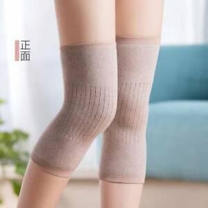 Cashmere Wool Knee Brace Pads Winter Warm Thermal Knee Warmers  JH
