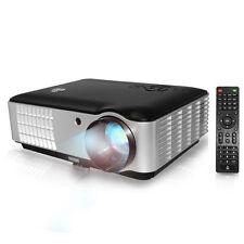 "Pyle PRJLE78HD 1080P Projector up to 200"" 2800 Lumens w Speaker + Ceiling Mount"