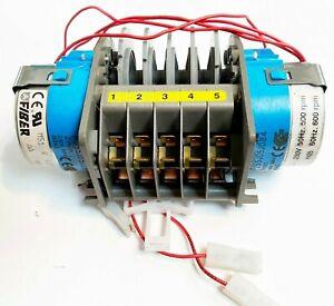 FIBER Programmer-Timer P255J05JD84 5 Cams 6s / 2 min 240V 16A