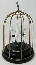 1987 The Franklin Mint Music Box - Birds of Love - Handcrafted in Fine Porcelain