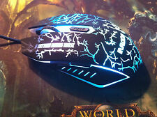 GB 8D 2400DPI Demon Prince X3 6 Buttons Gaming Mouse for MMO WOW RAZER FPS LOL