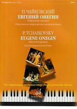 P.Tchaikovsky: Eugene Onegin. Selected Fragments for Piano. / Klavier