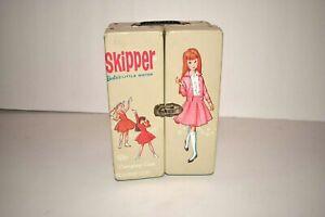 1964 SKIPPER  Barbie's Little Sister Carrying Case Mattel Vintage