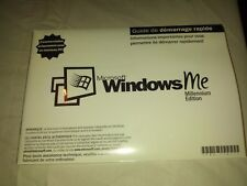 Microsoft Windows Me Millennium Edition French Full Version NEW!!