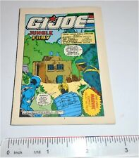 GI Joe Hasbro / Marvel Mini Comic 1992                  Jungle Fury