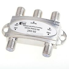 Pansat Wideband 4x1 DiSEqC 1.0 Model 4x1W LNB Premium Satellite Switch FTA Dish