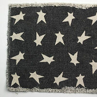 BLACK PRIMITIVE STAR Classic Country Table Runner