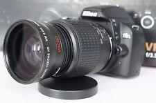 Wide Angle Macro Close Up Semi Fisheye Lens for Nikon D3400 D3300 D3100 D40X New