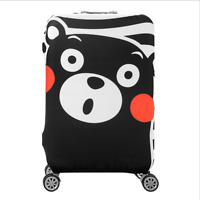 4 size Travel Luggage Suitcase Elastic Protector Cover Dust-proof Cute bear