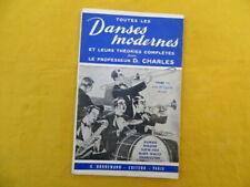 Toutes les Danses modernes - tome 2 - Charles - 1960