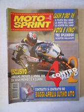 MOTOSPRINT n°45 1996 Biaggi Aprilia ultimo atto [MS9C]