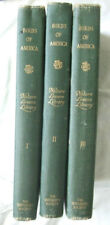 Birds of America- Nature Lovers Library- 3 Volumes  (1917)