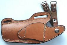 Vintage Hunter #33-40 Style Brown Leather Shoulder Or Belt Holster W/Strap