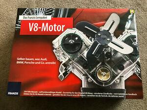 Bausatz V8 Motor von Franzis Lernpacket