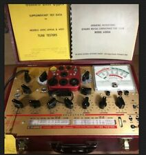 Vintage Hickok 6000A Micromhos Mutual Conductance Tube Tester Transistors Manual