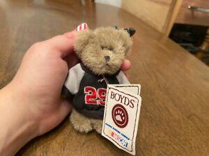 "Boyd's Mini Nascar Kevin Harwick Message Bear Keychain - 3 1/2"""