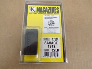 Savage Model 1912 22 LR Magazine by Triple K #473M