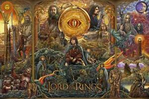 Poster The Lord of the Rings Lotr The Two Towers Print Film Cinema Film 27