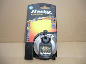 MASTERLOCK 70MM CLOSED SHACKLE  COMBINATION PADLOCK M40DNUM NEW